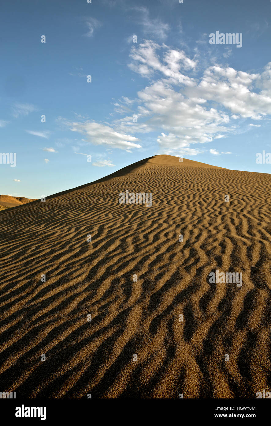ID00643-00...IDAHO - Patterns of the sand at the Bruneau Dunes State Park. - Stock Image