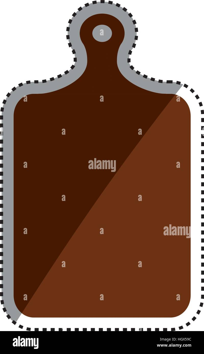 Plastic Cutting Board Icon Vector Illustration Graphic Design Stock Vector Image Art Alamy