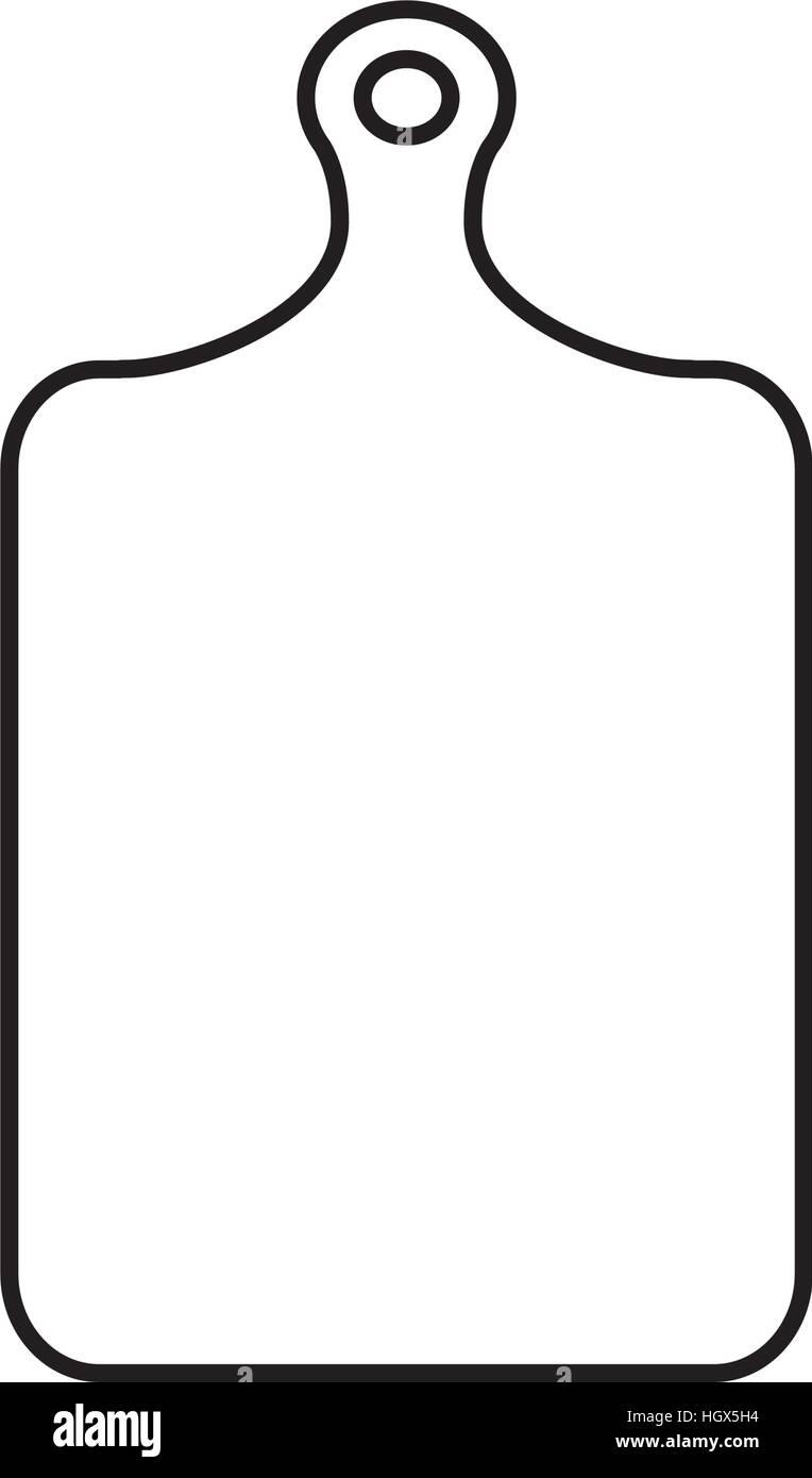 Plastic Cutting Board Stock Vector Image Art Alamy