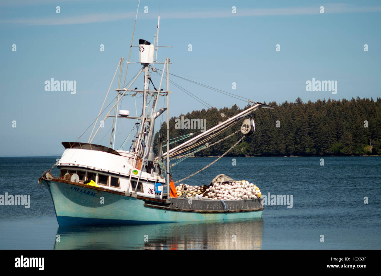 R Fisheries A seiner fishing boat ...