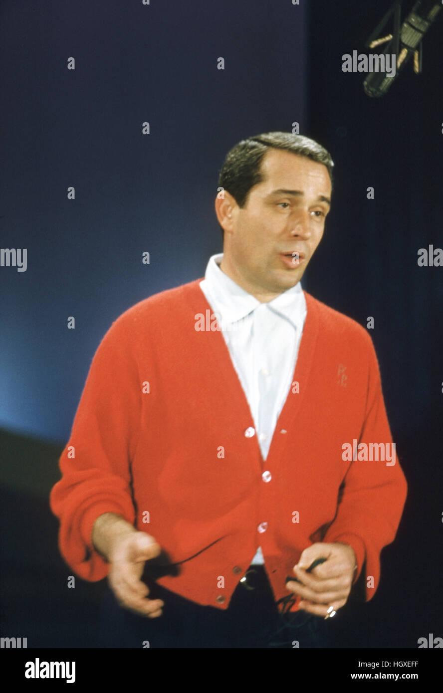 perry como on the perry como show stock image - Perry Como Christmas Show