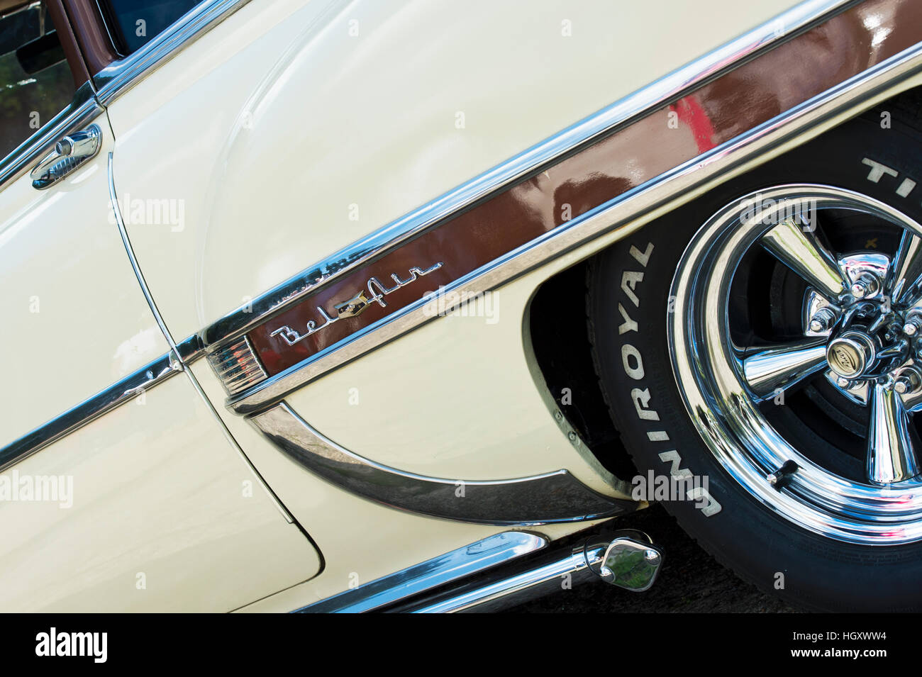 Chevy Custom Stock Photos Images Alamy 1978 Chevrolet Bel Air 1953 Abstract Classic American Car Image