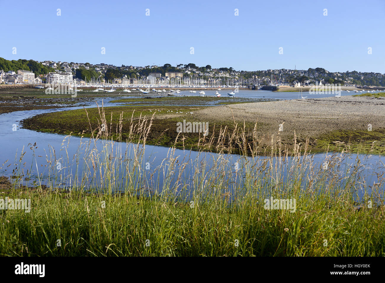Perros-Guirec in France Stock Photo