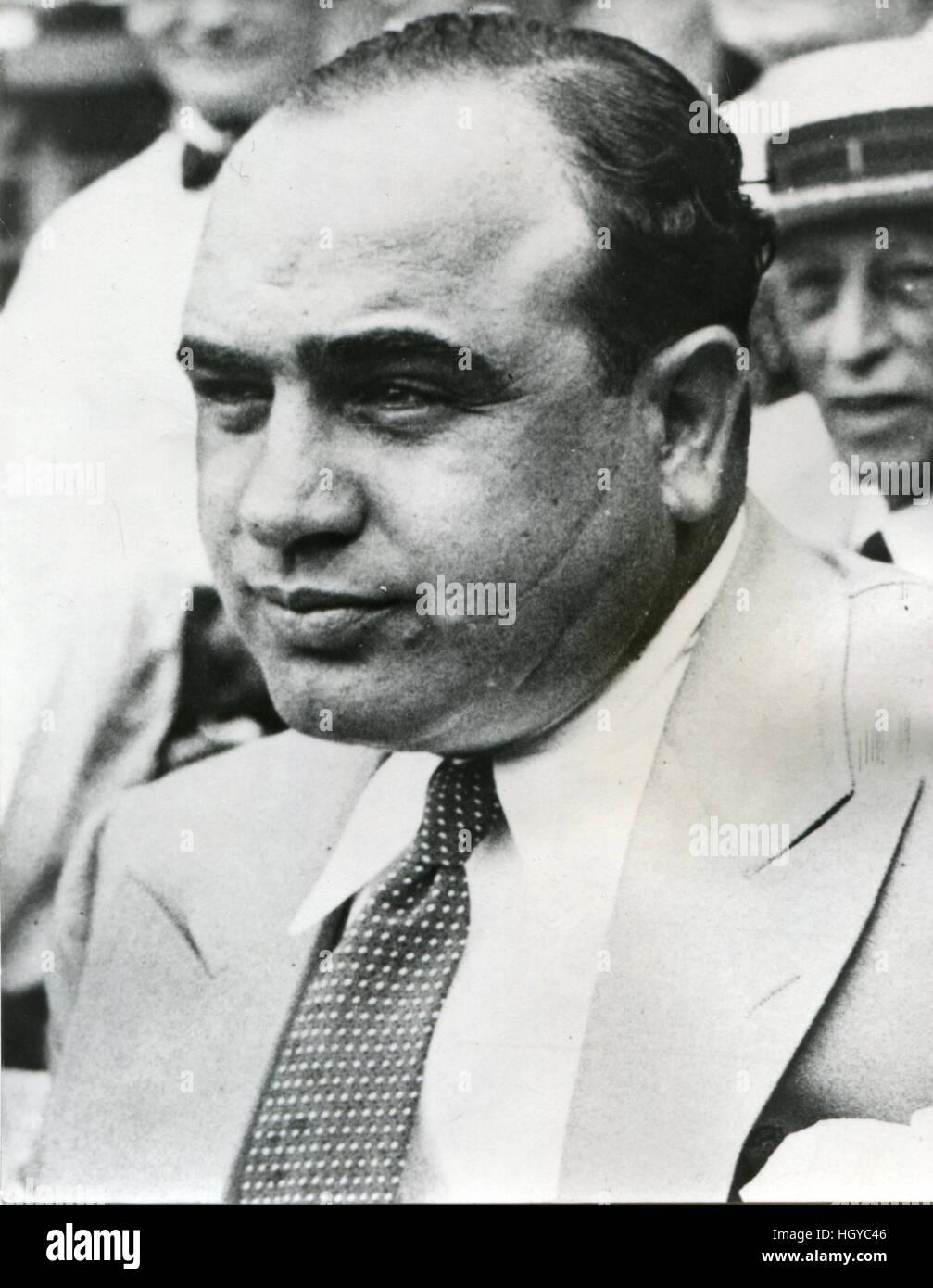 Alphonse G. 'Al' Capone - Stock Image