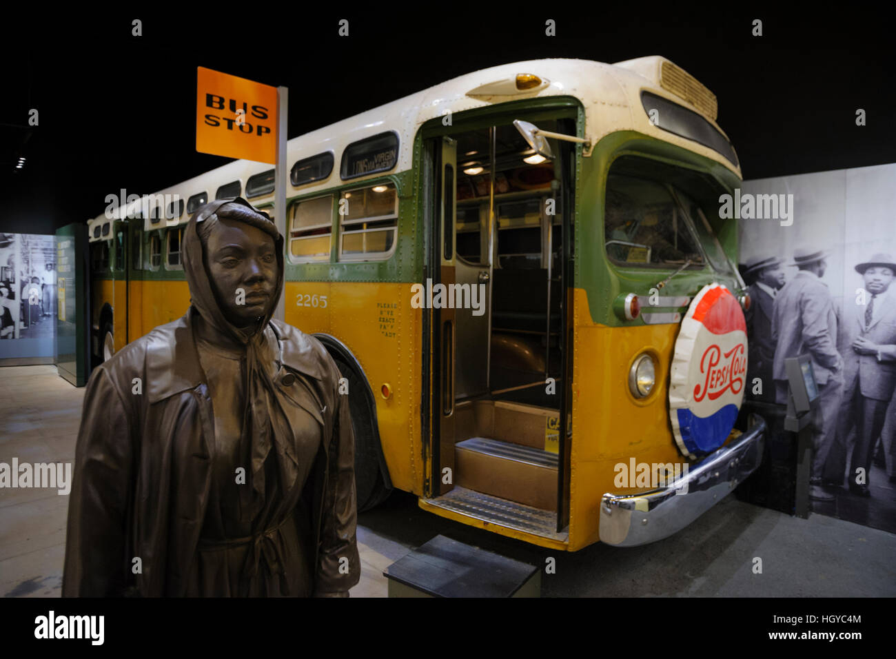 National Civil Rights Museum, Memphis, Tennessee, USA Stock Photo