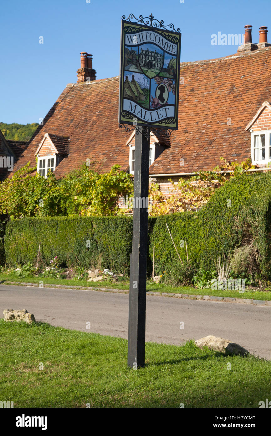 Turville in Buckinghamshire becomes the fictional village of Whitcombe Mallet for the popular UK TV crime-drama, - Stock Image