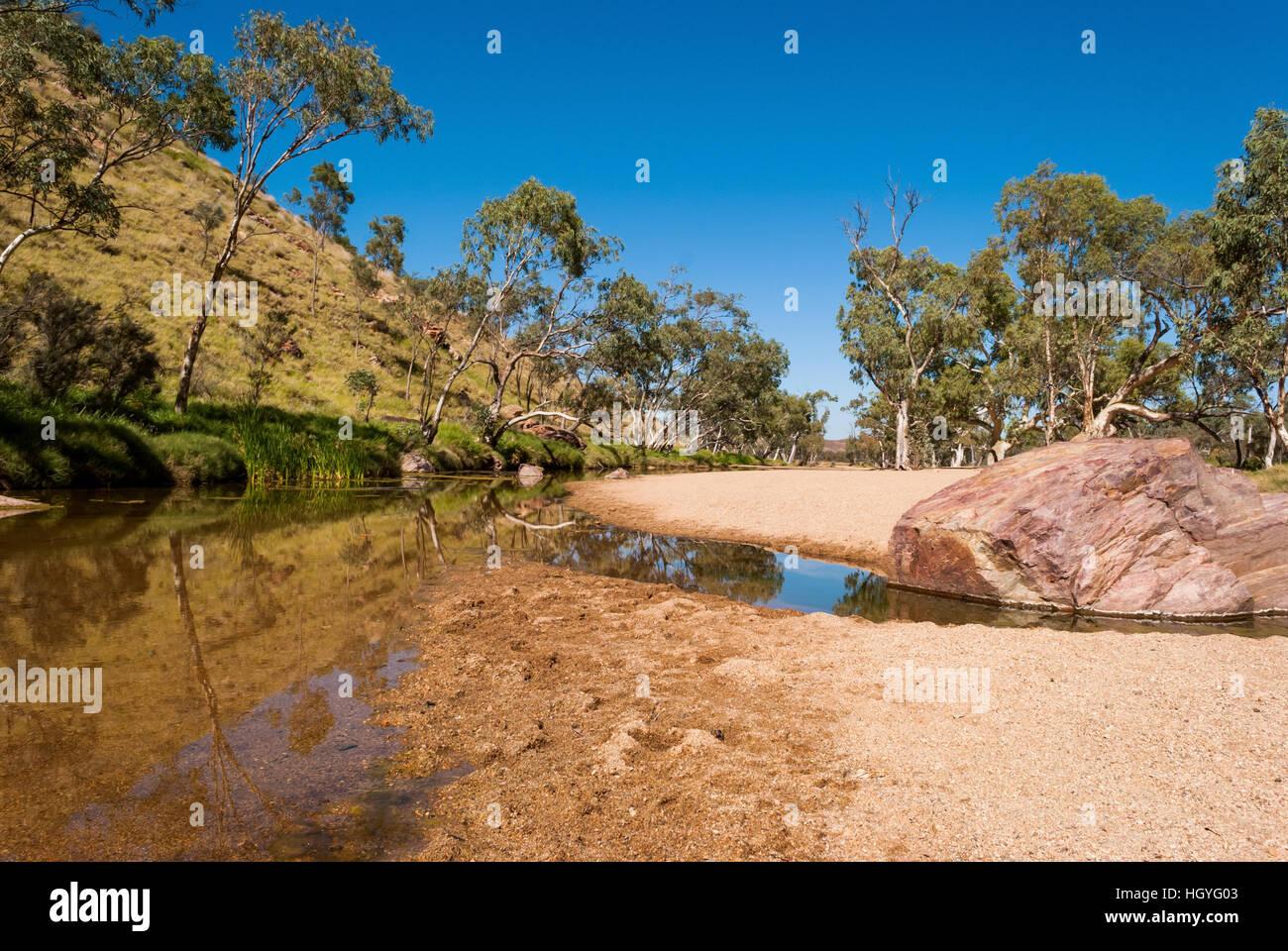 Simpsons Gap, MacDonnell Ranges, Australia Stock Photo