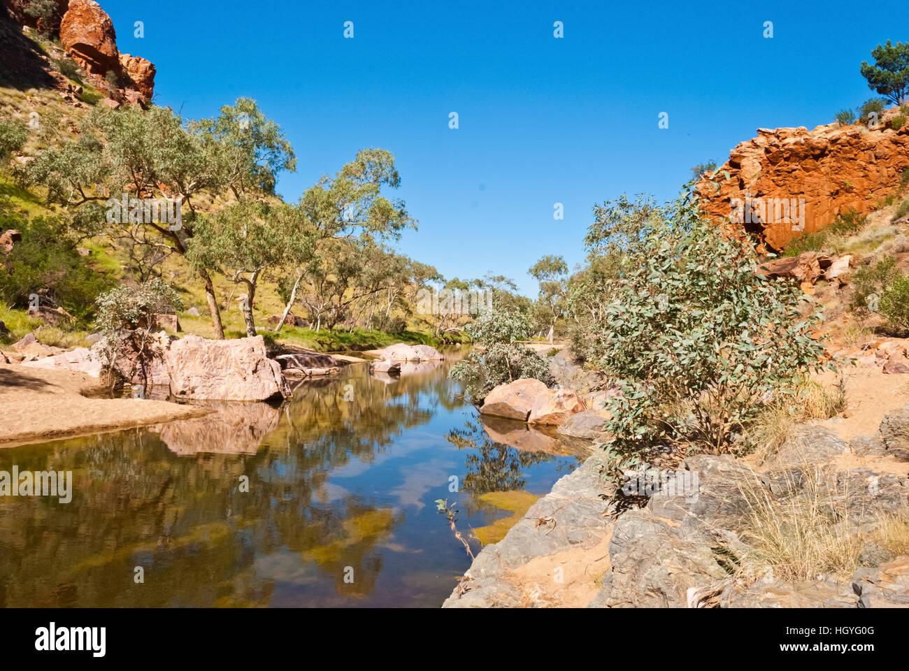 Simpsons Gap, Northen Territory, Australia - Stock Image
