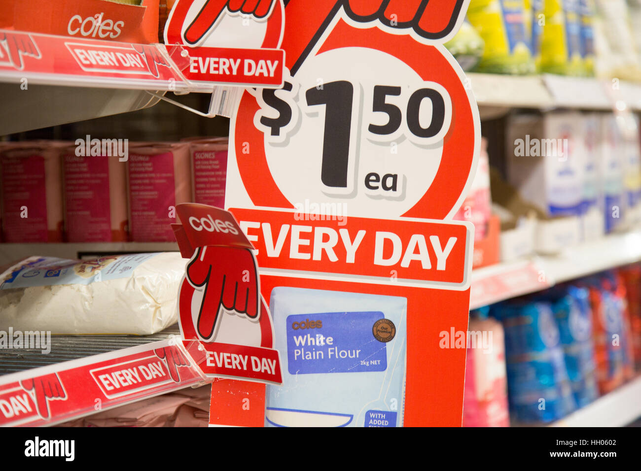 Coles Supermarket Store Sign In High Resolution Stock Photography And Images Alamy