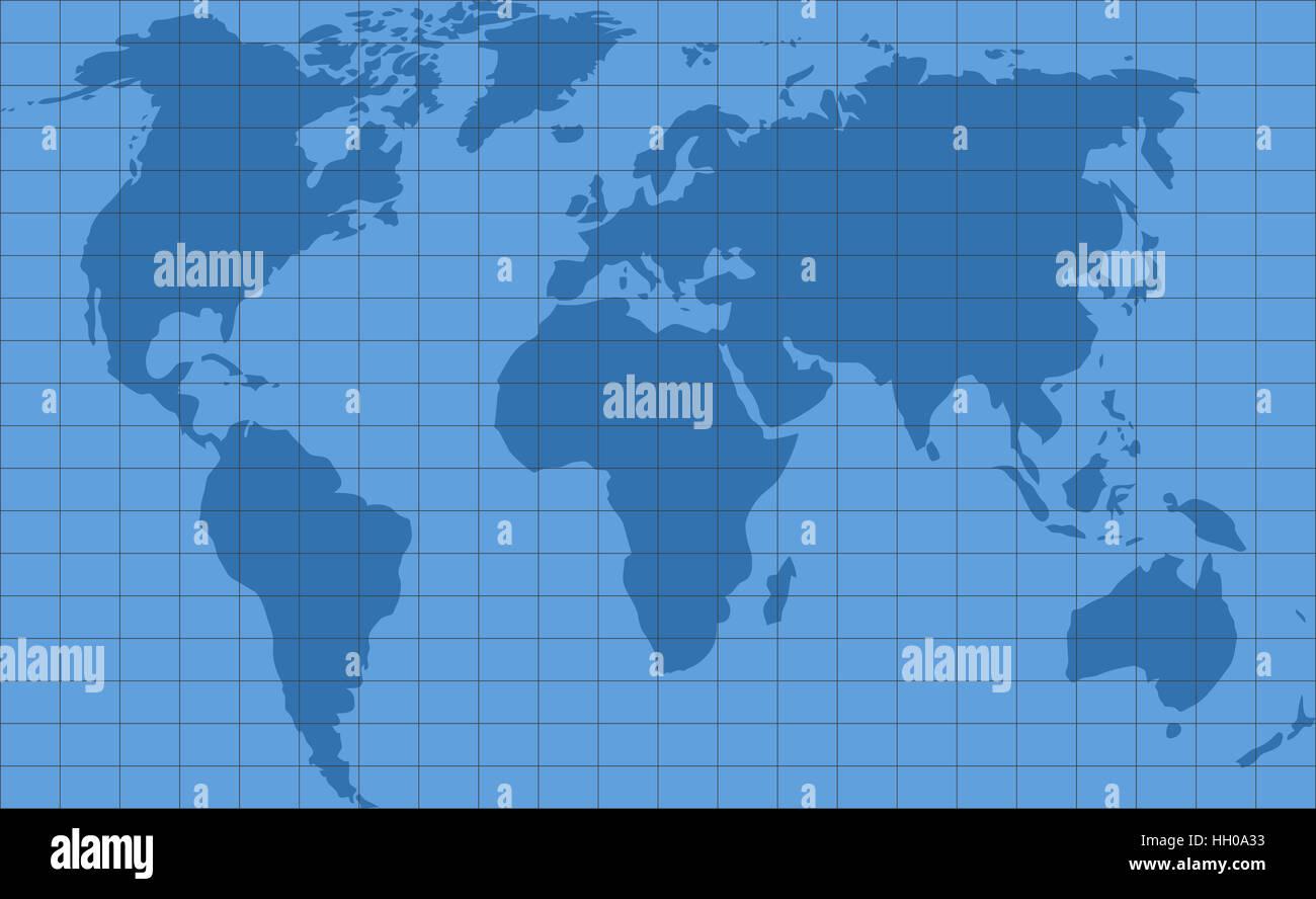 Graticules world map  Backdrop map earth digital, graticule grid