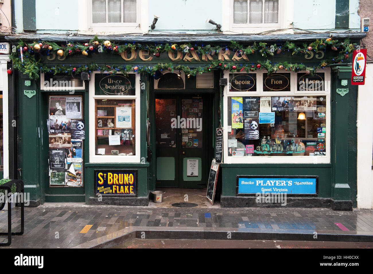 The famous De Barra's Pub in Clonakilty, West Cork, Ireland known for live music - Stock Image