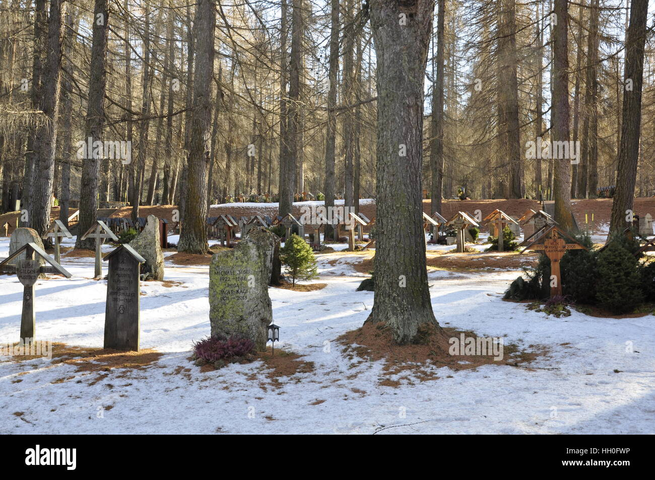 Jew cemetery - Stock Image