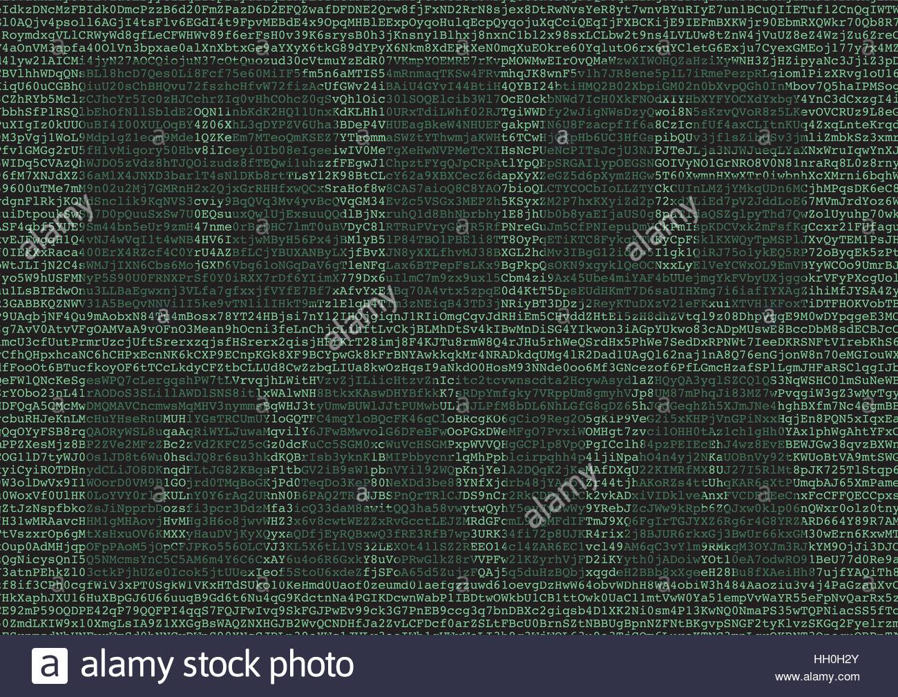 Big data abstract background. New business based in extraction of valuable data on large data sheets made with ETL - Stock Image