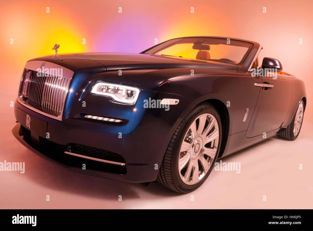 Rolls Royce Silver Dawn 2015 - Stock Image