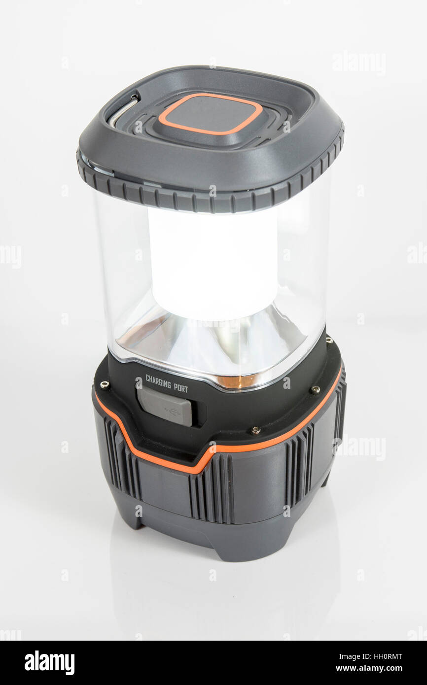 LED Lantern - Stock Image