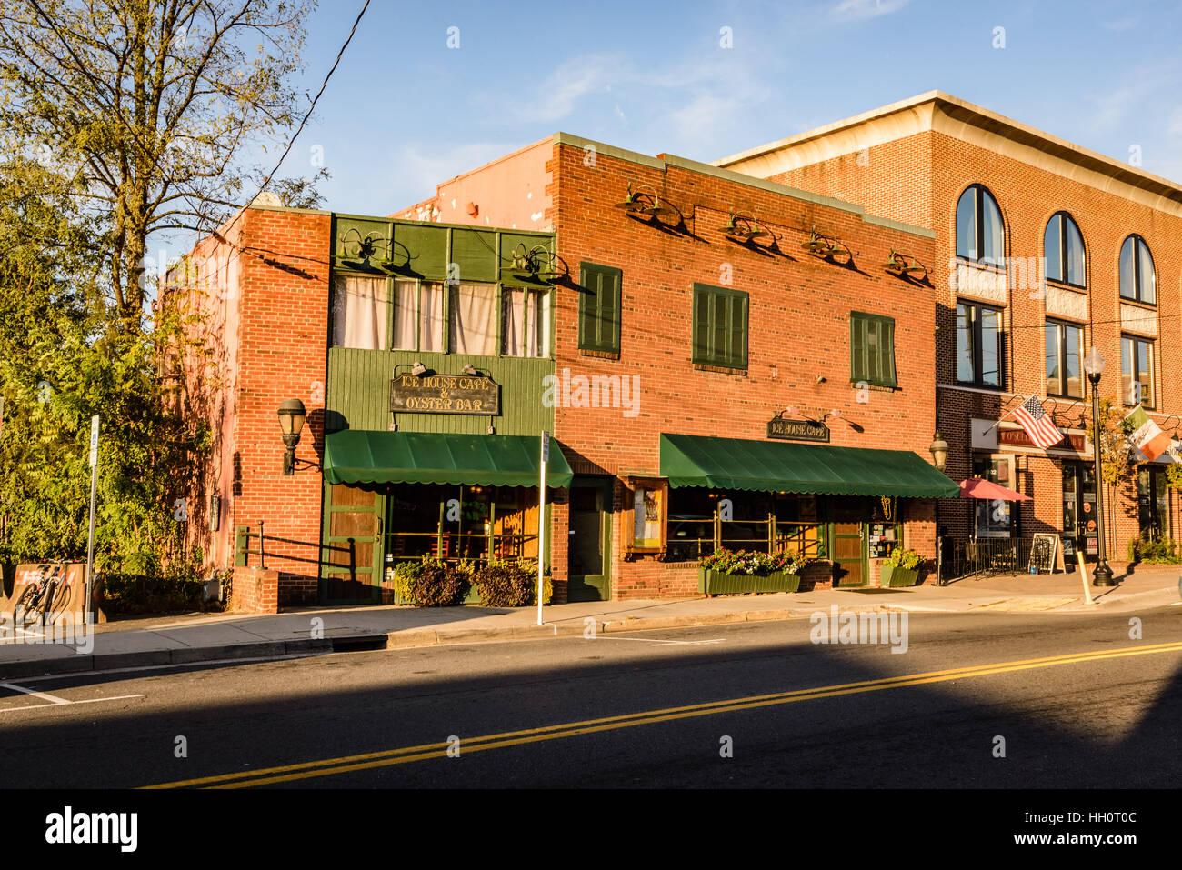 Ice House Cafe Oyster Bar 760 Elden Street Herndon Virginia
