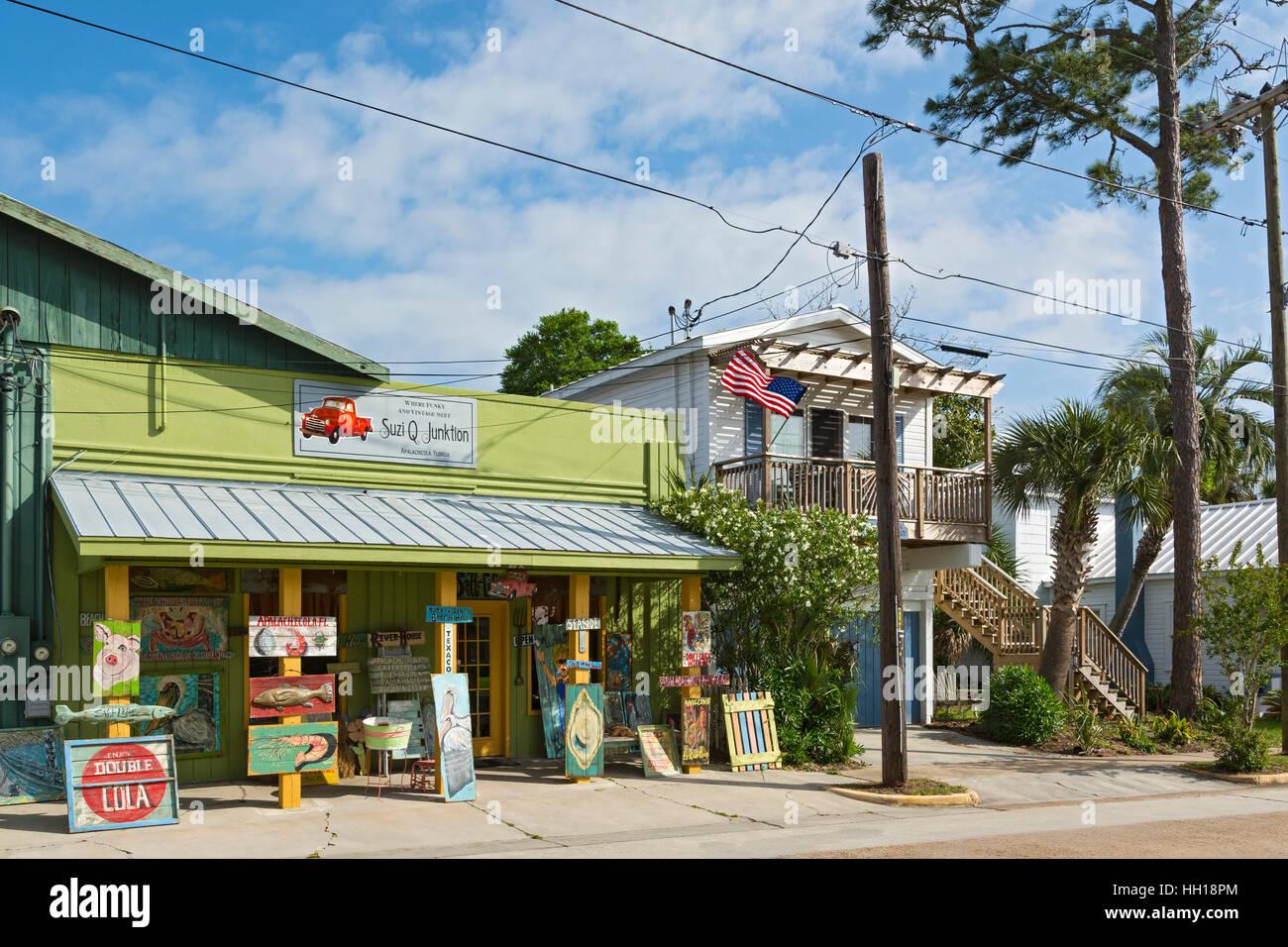 Florida, Apalachicola, gallery - Stock Image