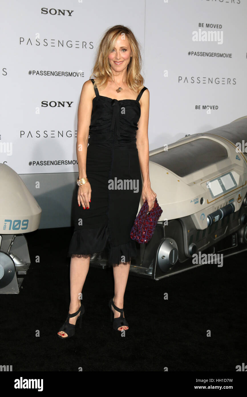 'Passengers' Premiere at the Village Theater - Arrivals  Featuring: Kim Raver Where: Westwood, California, - Stock Image