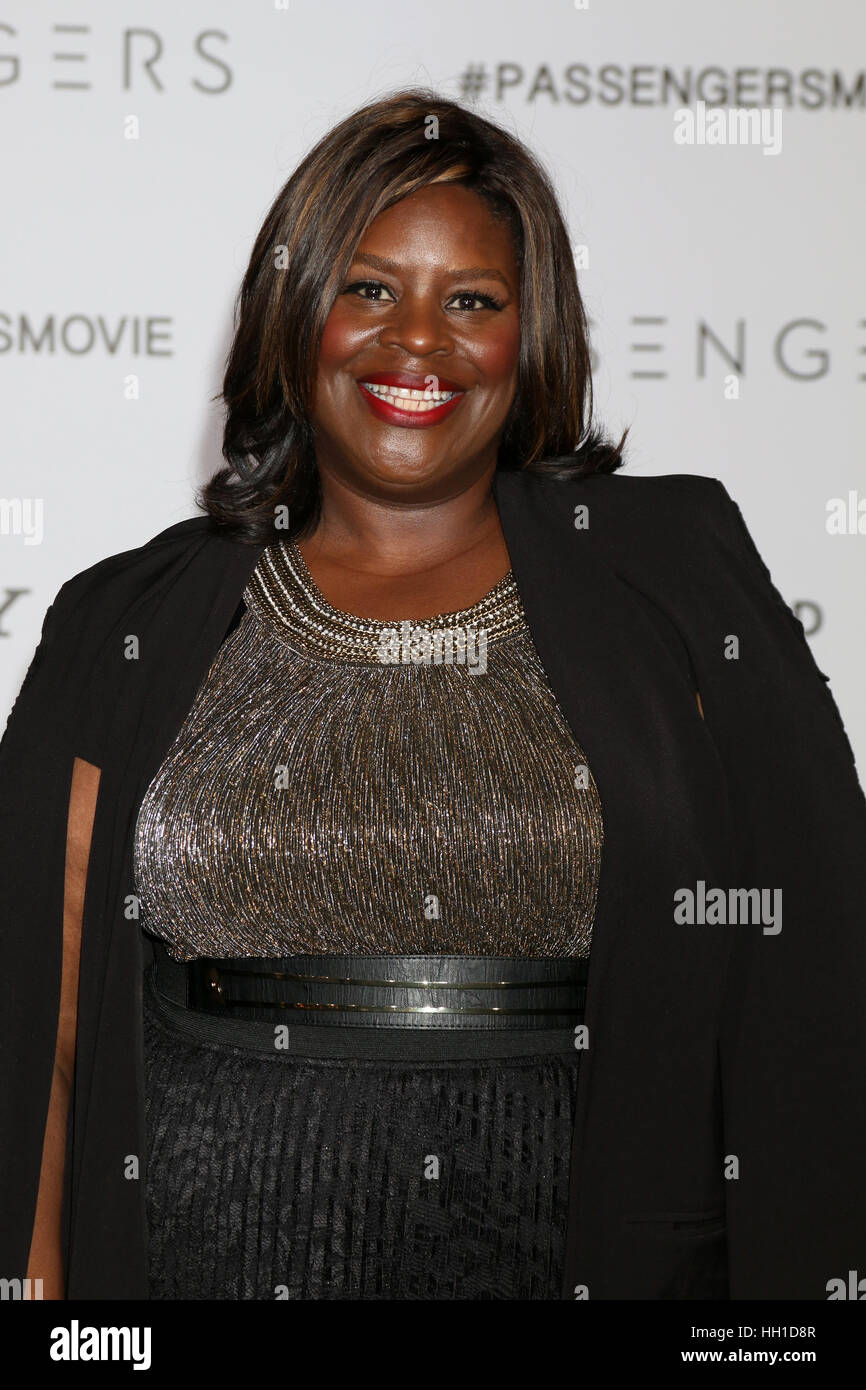 'Passengers' Premiere at the Village Theater - Arrivals  Featuring: Retta Where: Westwood, California, United - Stock Image