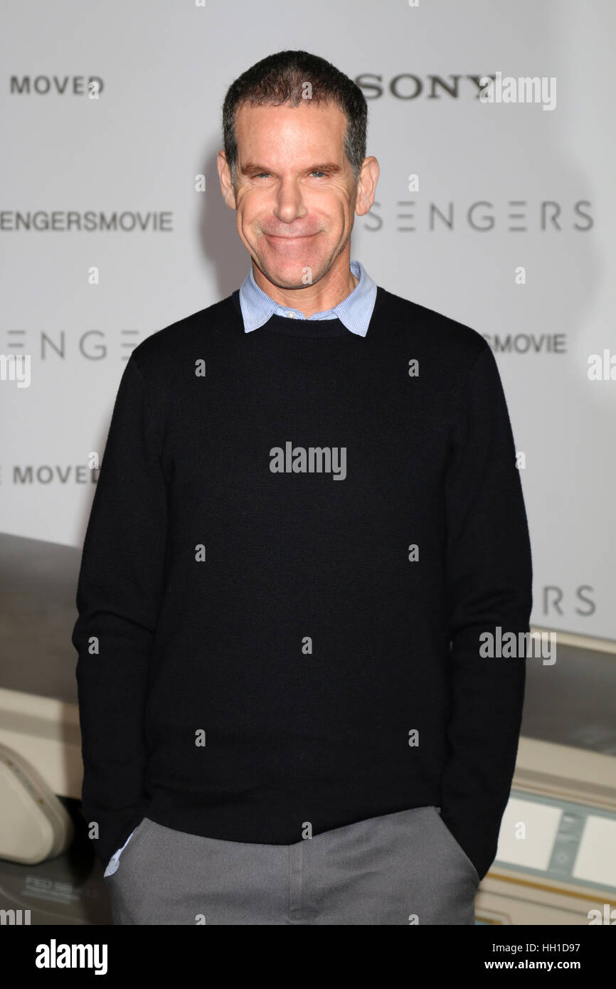 'Passengers' Premiere at the Village Theater - Arrivals  Featuring: Stephen Hamel Where: Westwood, California, - Stock Image