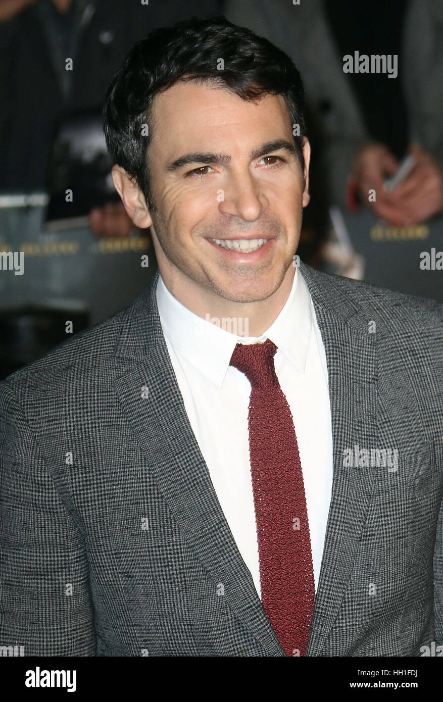 Jan   Chris Messina Attending Live By Night European Premiere Bfi Southbank In London England Uk