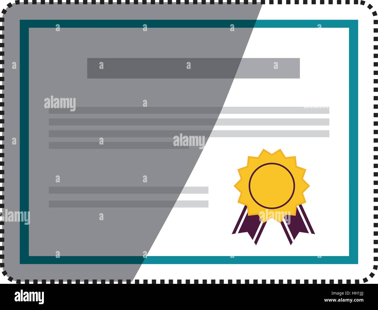 Diploma education certification icon vector illustration graphic ...