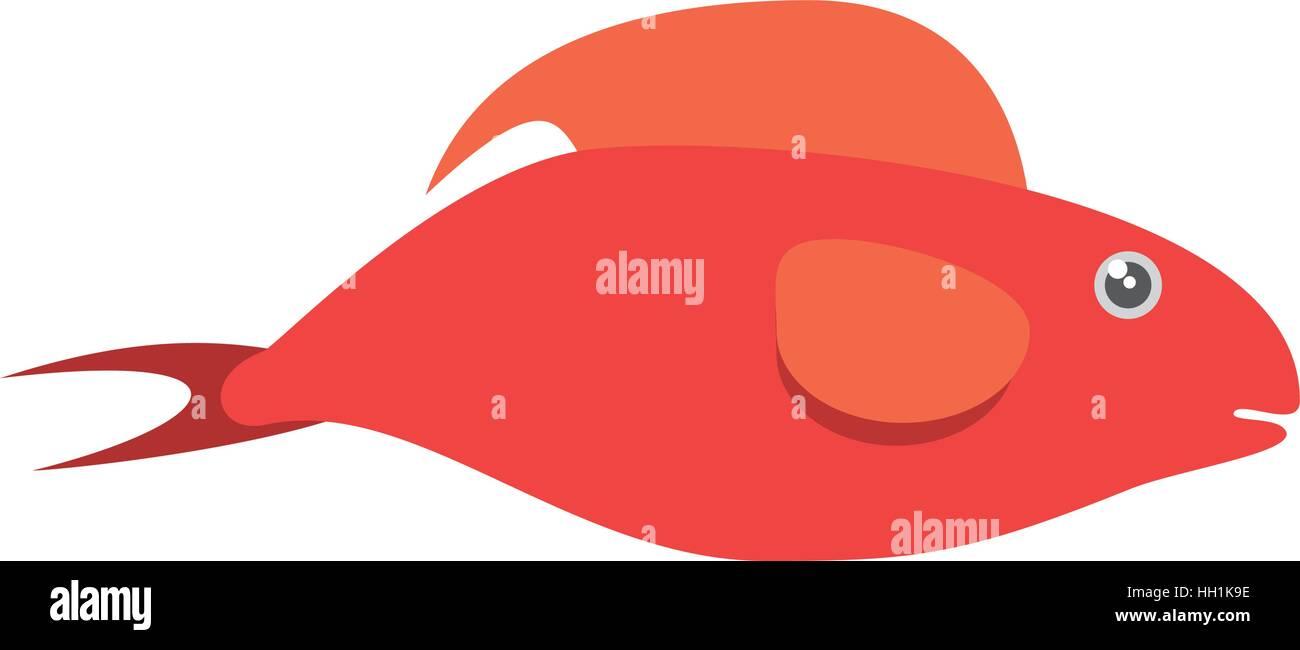Half Fish Stock Vector Images - Alamy
