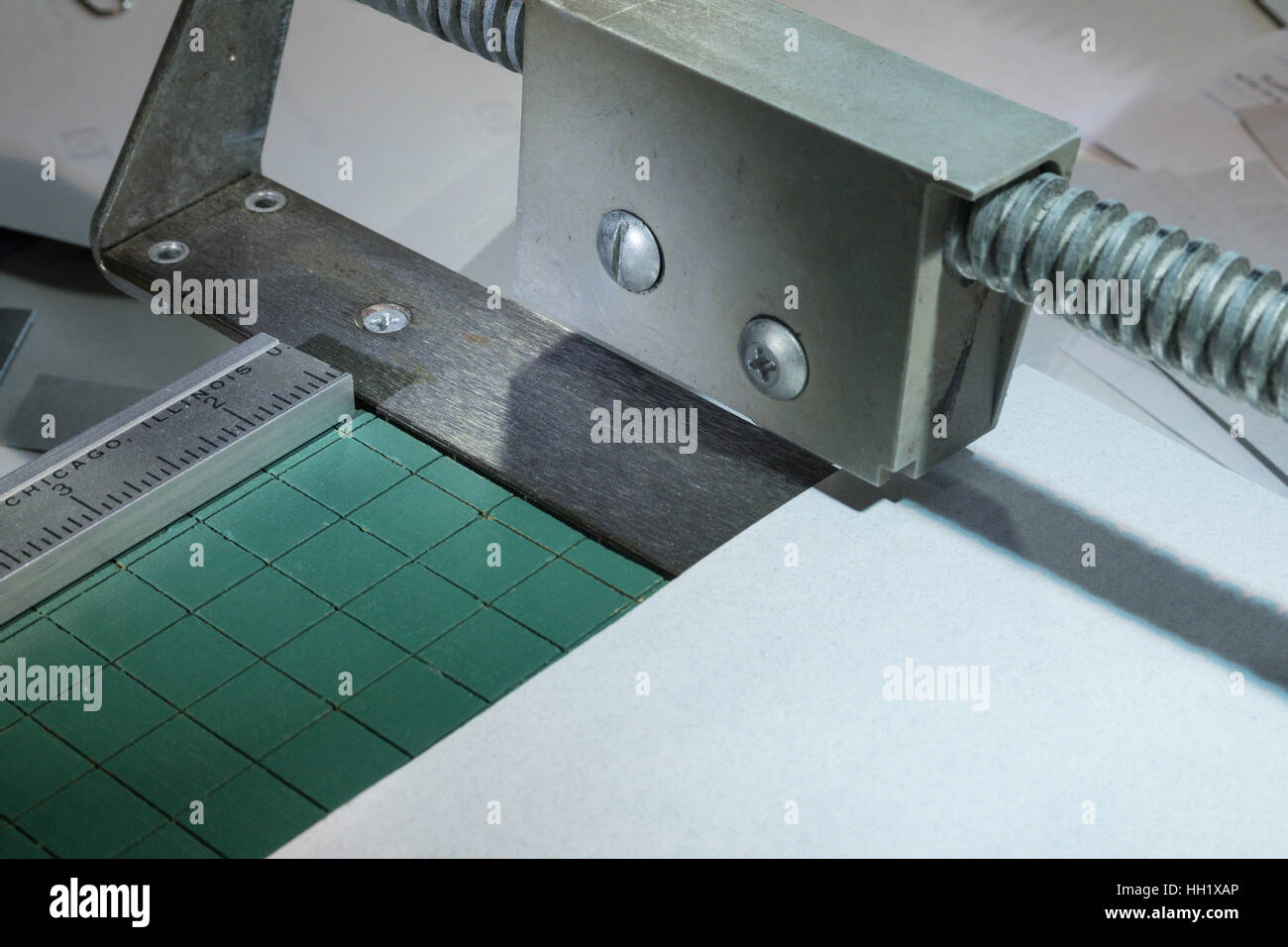Rotary Paper Trimmer - Stock Image