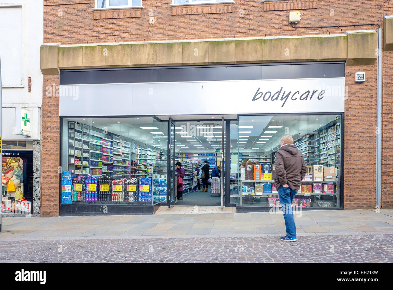 Bodycare Barrow in Furness - Stock Image