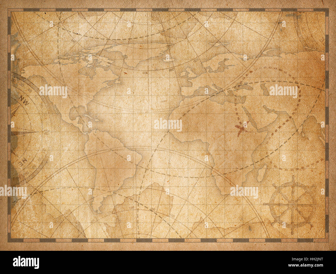 old world map background Stock Photo: 130980356   Alamy