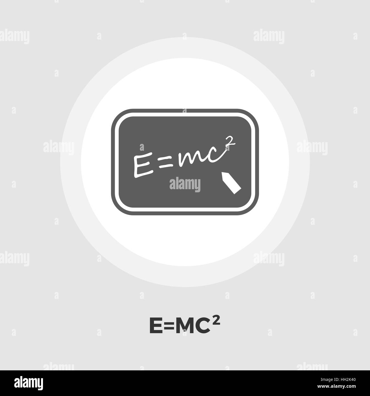 Physics icon vector. Flat icon isolated on the white background. Editable EPS file. Vector illustration. - Stock Vector