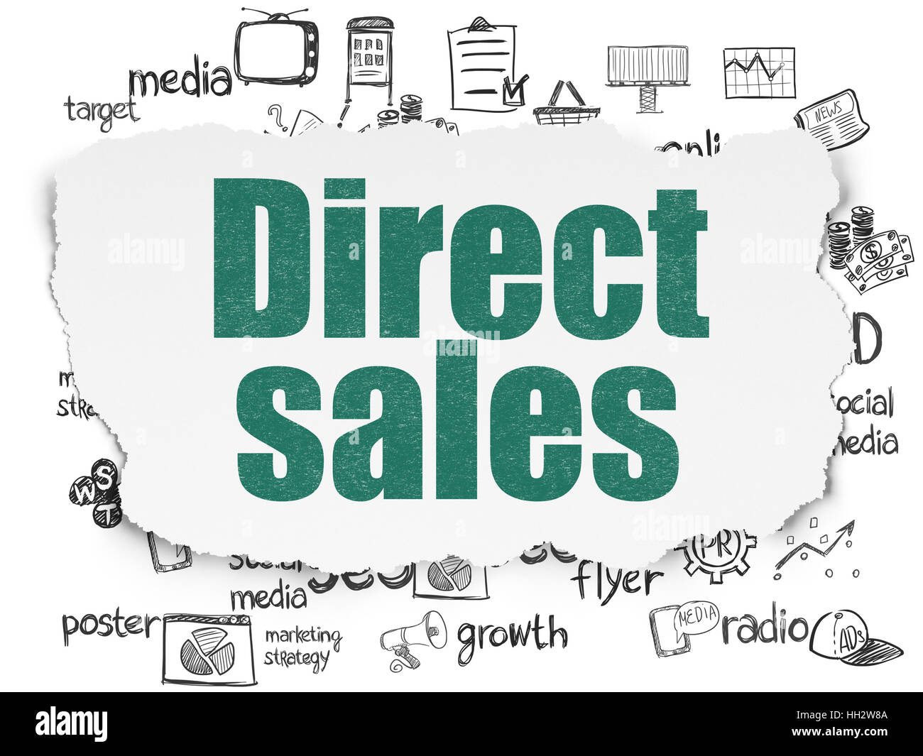 marketing concept direct sales on stock photos marketing concept