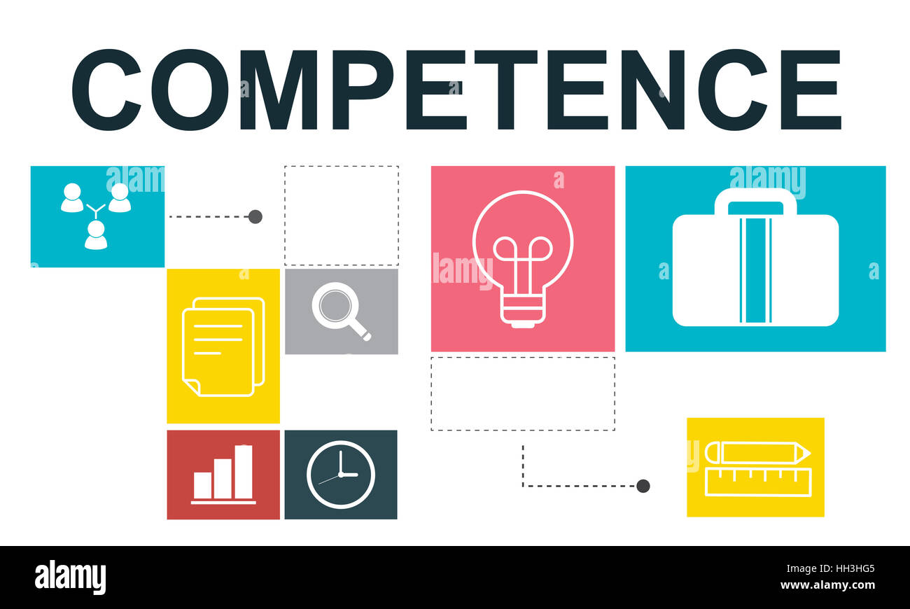 Job Opportunites Motivation Employment Competence Concept - Stock Image