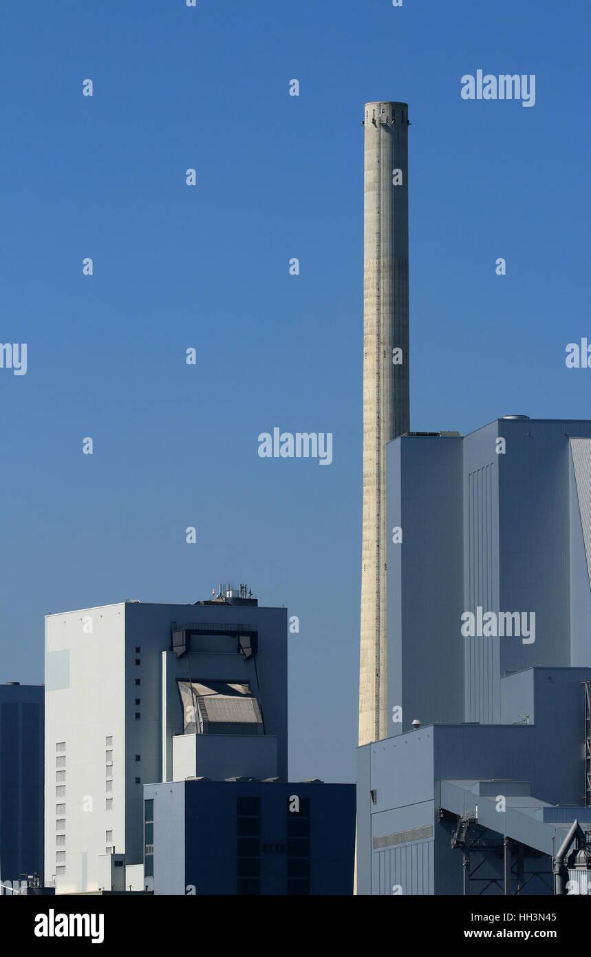 Kraftwerk Großkraftwerk Industriegebäude - Stock Image
