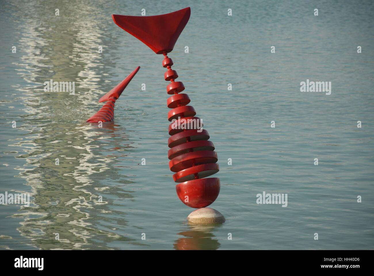 Pool ornament at the 2016 EXPO Antalya Stock Photo