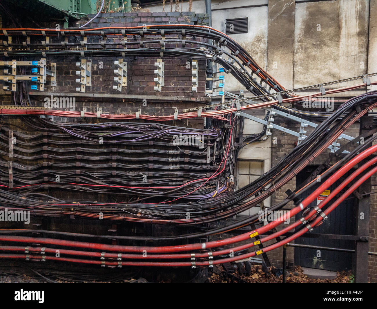 Cool Electrical Wiring London Underground Stock Photo 131013058 Alamy Wiring 101 Photwellnesstrialsorg