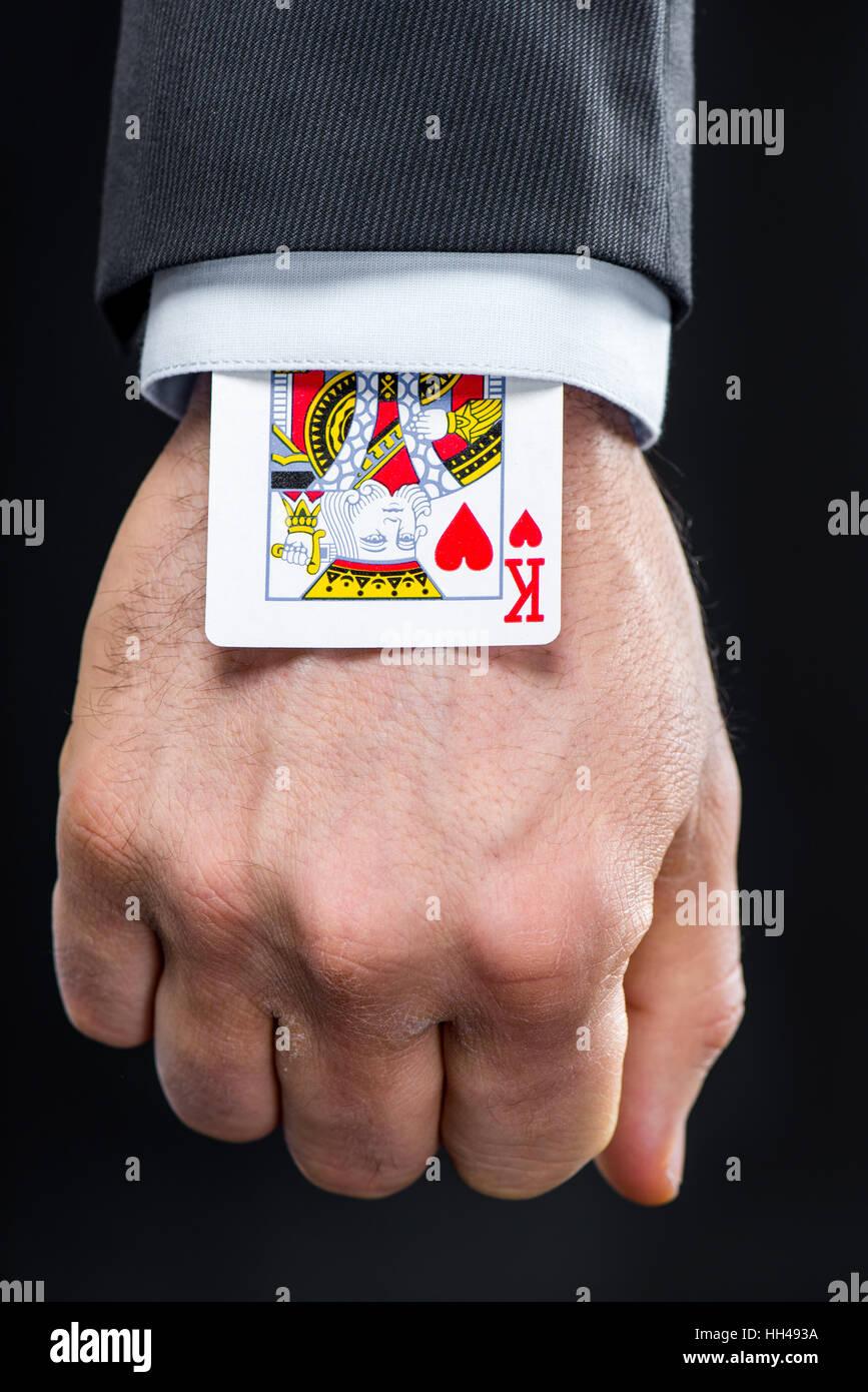 Business Card Trick Executive Stock Photos & Business Card Trick ...