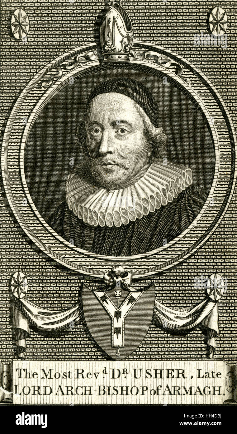 James Ussher, Archbishop of Armagh (1581-1656) - Stock Image
