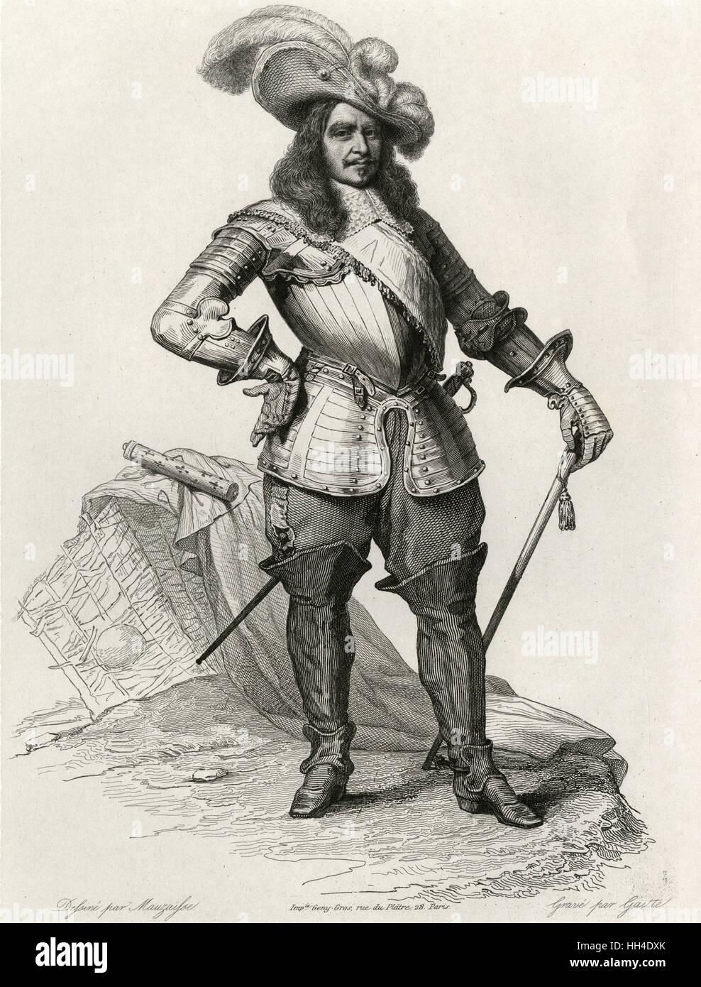 Henri de la Tour d'Auvergne,  vicomte TURENNE  French military commander - Stock Image