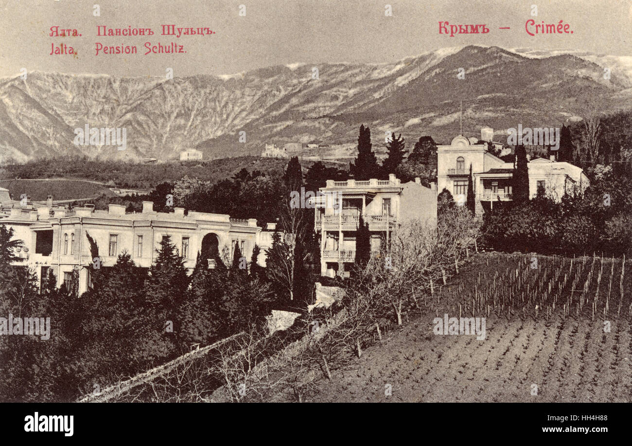 Sanatoriums and pensions of Crimea: a selection of sites