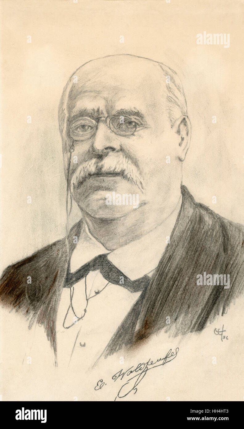 Emil Waldteufel (1837-1915) - French composer. - Stock Image