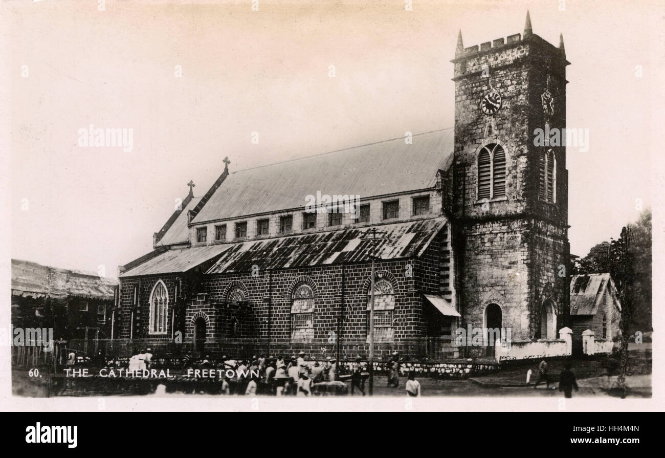 St George's Cathedral, Freetown, Sierra Leone, West Africa. - Stock Image