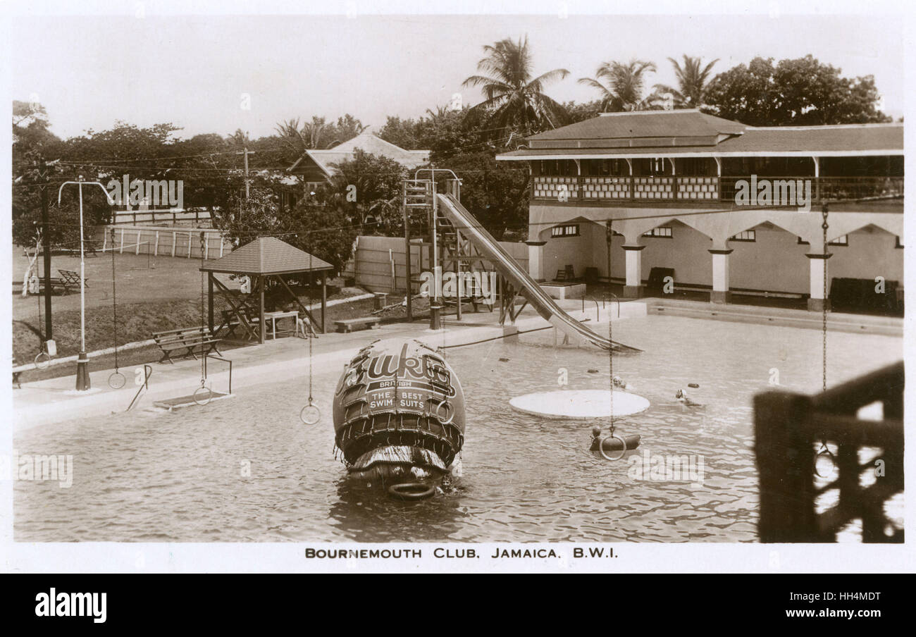 Kingston jamaica historical stock photos kingston - Public swimming pools bournemouth ...