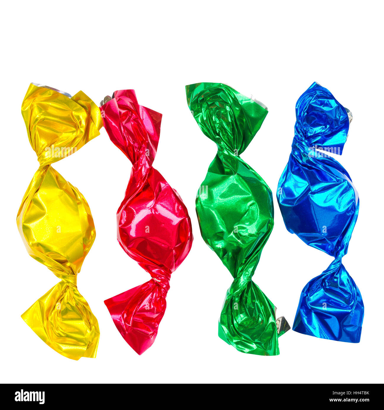 Colorful bonbons - Stock Image