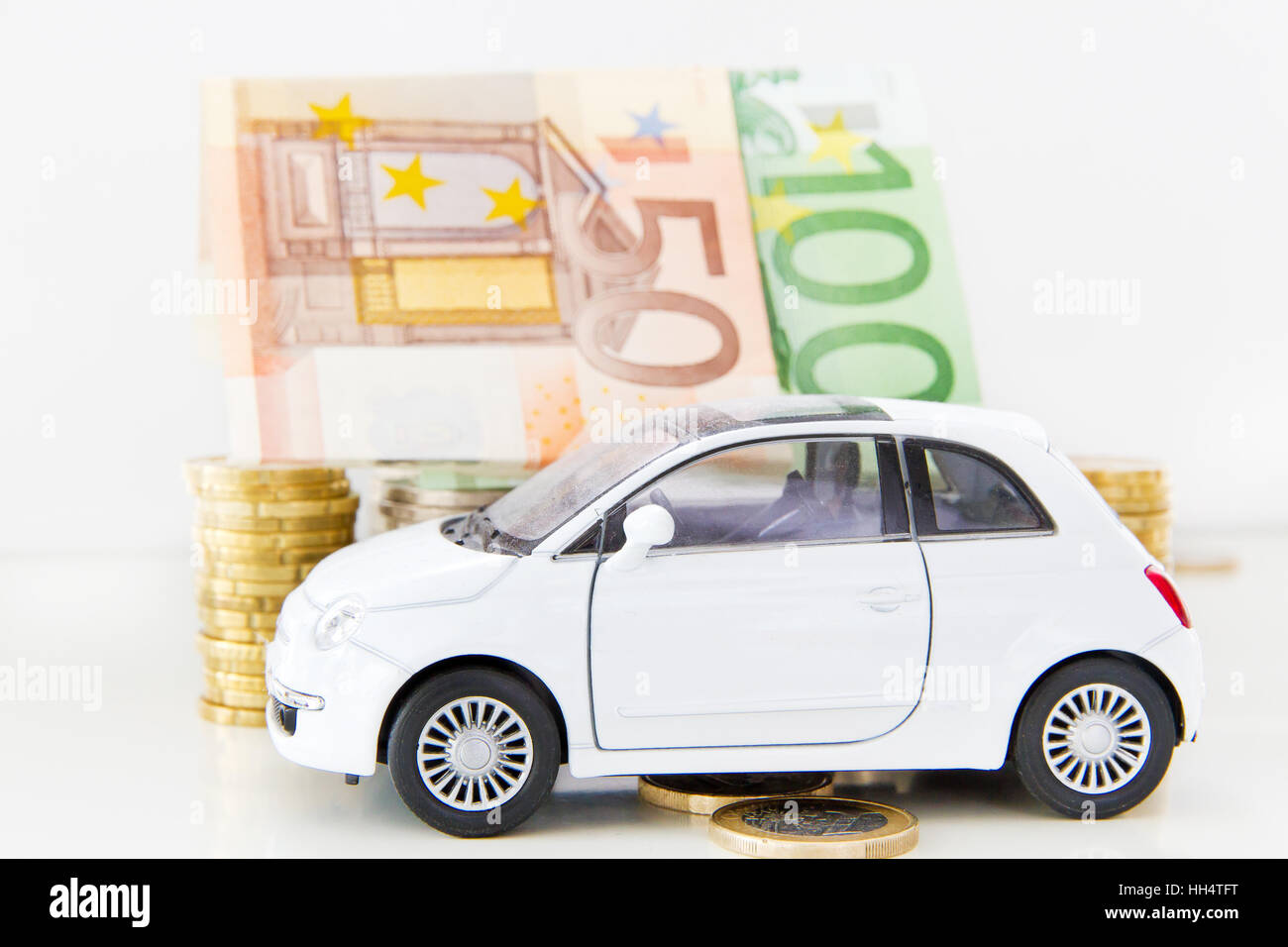 Car costs Stock Photo