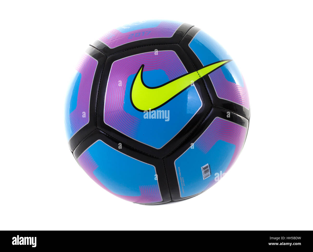 5901b133b Nike Pitch Football on white background, Nike Inc is an American  multinational corporation