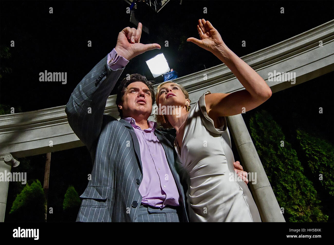 GODS BEHAVING BADLY 2013  Big Beach Films production with Sharon Stone and  Oliver Platt - Stock Image