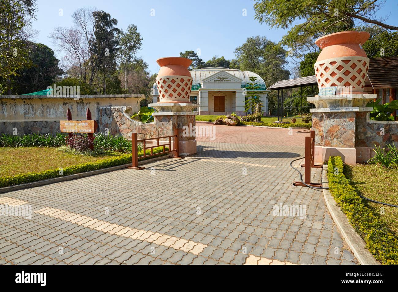 Orchid Garden And Butterfly Museum, National Kandawgyi Botanical Gardens,  Pyin U Lwin, Pyin Oo Lwin (Maymyo), Myanmar