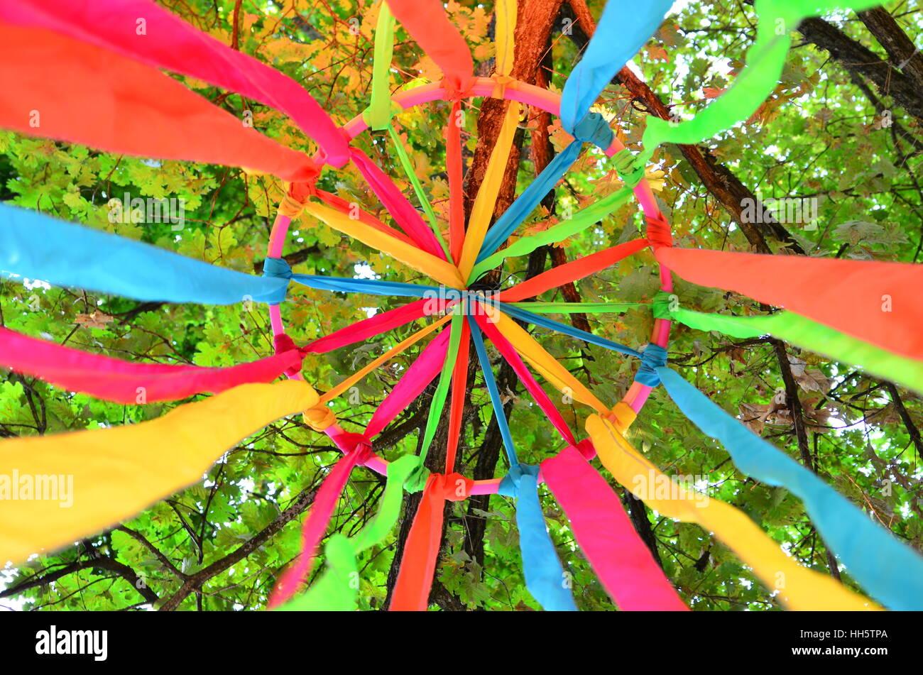 Rainbow of colors - Stock Image