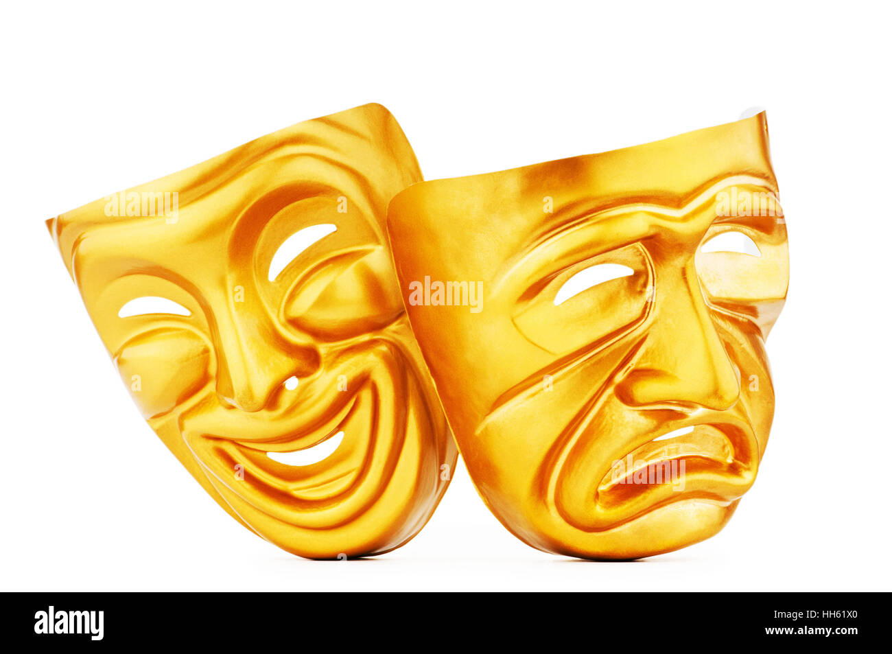 Theatre Masks Happy And Sad Stock Photos & Theatre Masks Happy And ...